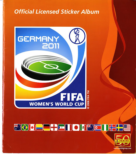 """""""Looking at the Women's World Cup Panini Sticker collection gives me mixed emotions..."""" David Goldblatt, Football Writer"""