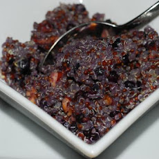 Wild Blueberry & Maple Breakfast Quinoa With Toasted Pecans