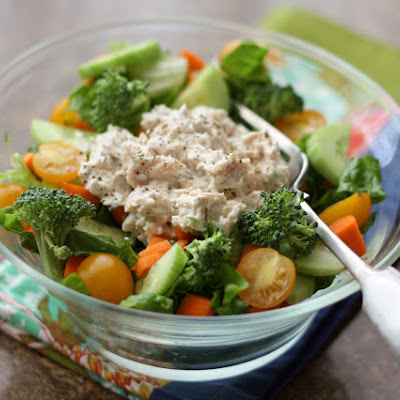 5 Minute Ranch Chicken Salad