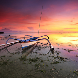 morning colors by Nghcui Agustina - Transportation Boats (  )