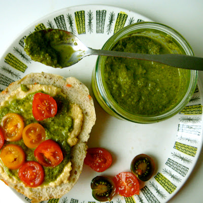 Green Giant Cilantro Pesto