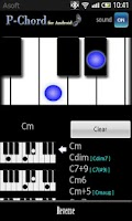 Screenshot of PChord  (Piano Chord Finder)