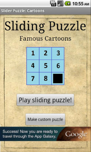 Sliding Puzzle: Cartoons