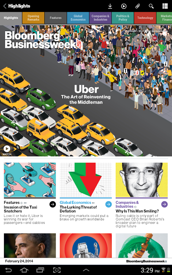 Bloomberg Businessweek+ Screenshot 6