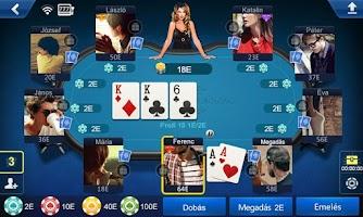 Screenshot of Póker Magyarország