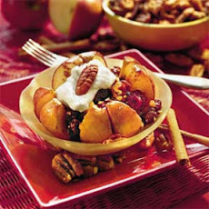 Pecan-and-Dried Fruit Baked Apples