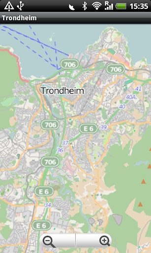 Trondheim Street Map