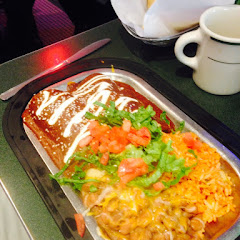 The Cashew Mole Enchiladas