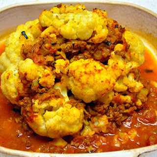 INDIAN BAKED CAULIFLOWER