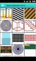 Screenshot of Visual Optical Illusions