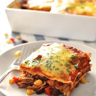 Mexican Enchilada Lasagna Recipes