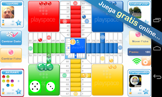 Screenshot of Parcheesi PlaySpace