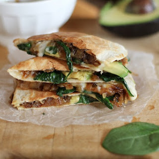 Spinach Onion Quesadillas Recipes