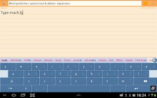 Screenshot of Flexpansion Keyboard FREE
