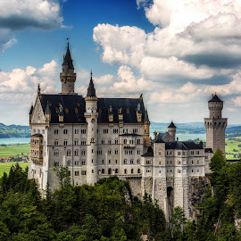 by Aaron Choi - Buildings & Architecture Public & Historical ( europe, european, fussen, german, castle, germany )