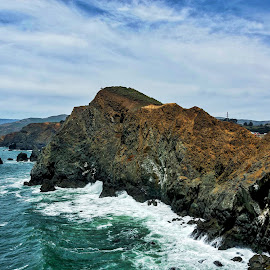 The California Coast by Diane Clontz - Novices Only Landscapes ( marin county, ocean )
