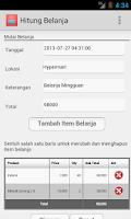 Screenshot of Hitung Belanja
