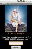 Screenshot of Shirdi Sai Baba Answers