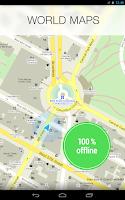Screenshot of MAPS.ME — offline maps