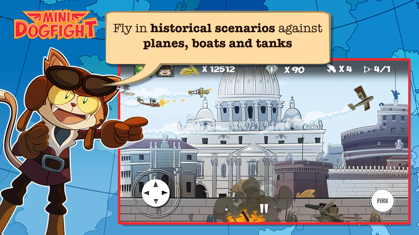 Mini Dogfight Screenshot 1