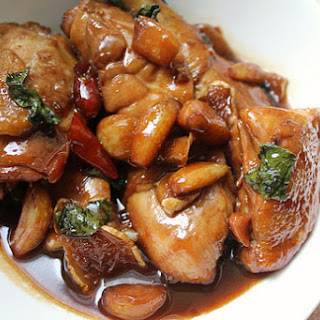 Taiwanese Three Cup Chicken (San Bei Ji)