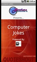 Screenshot of Computer Jokes