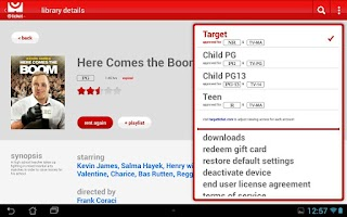 Screenshot of Target Ticket