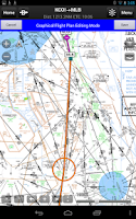 Screenshot of Garmin Pilot