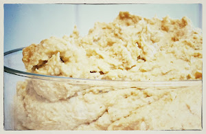 Delicious freshly made Hummus