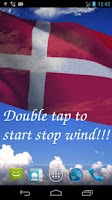 Screenshot of 3D Denmark Flag Live Wallpaper