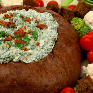 Spinach Dip in a Rye Shell CBC Best Recipes Ever