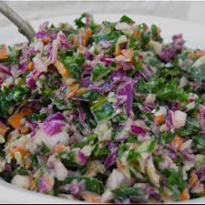 Healthy Colourful Coleslaw