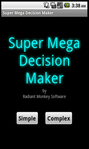 Super Mega Decision Maker Free