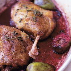 Nigel Slater's Duck with Figs and Barolo