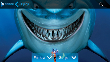Screenshot of Pickbox tv