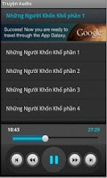 Screenshot of Truyện Audio