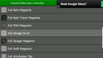 Screenshot of Unturned Crafting Guide