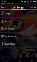 Screenshot of Simple Mp3 Music Download