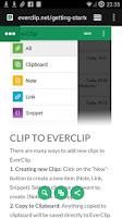 Screenshot of EverClip