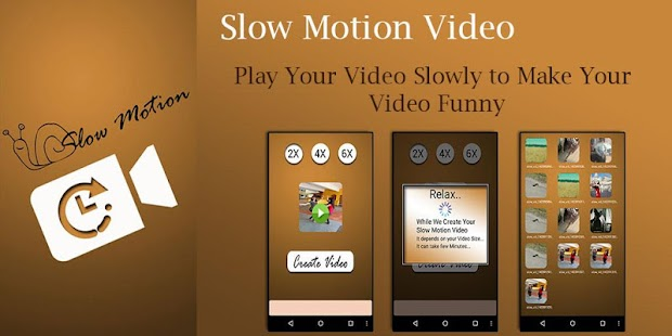 how to play video in slow motion android