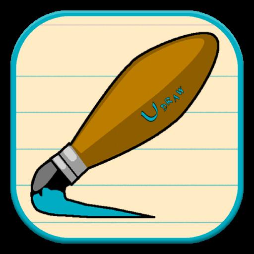 udraw專業 - 繪製油漆嘟嘟的 LOGO-APP點子