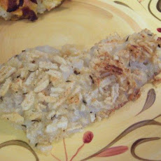 Healthy Baked Potato Chip Fish