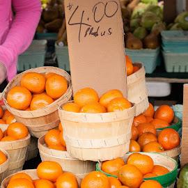 Clementines by Jennifer Bacon - Food & Drink Fruits & Vegetables ( orange, fruit, market, clementine, produce, sale )