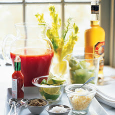 Danish Mary with Celery Ice