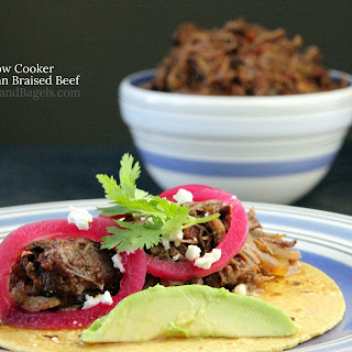 SLOW COOKER MEXICAN BRAISED BEEF (CARNE DESHEBRADA)