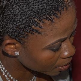 Bride in Prayer Time by Nicholas Sykes - Wedding Ceremony (  )