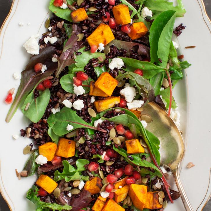 ... Rice Pumpkin Salad with Blood Orange Vinaigrette Recept | Yummly