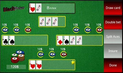 Black 7 Poker