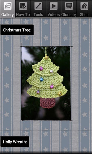 Crochet Tree and Wreath