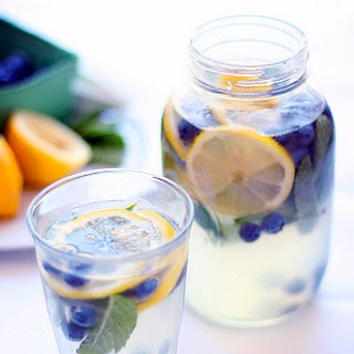 Blueberry Mint Drink Recipes